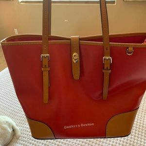 Dooney & Bourke Authentic Red Tote